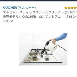 KARCHER SC1 高壓蒸氣清洗機