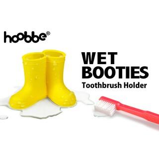 日本 hoobbe雨鞋造型牙刷架 WET BOOTIES
