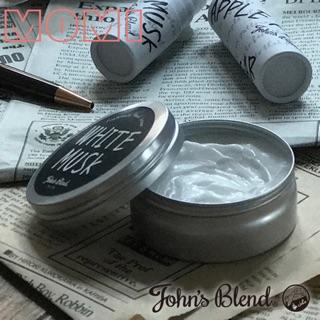 John's Blend 香氛 保濕 滋潤 護手霜 日本製 白麝香 蘋果梨MOMI日本居家