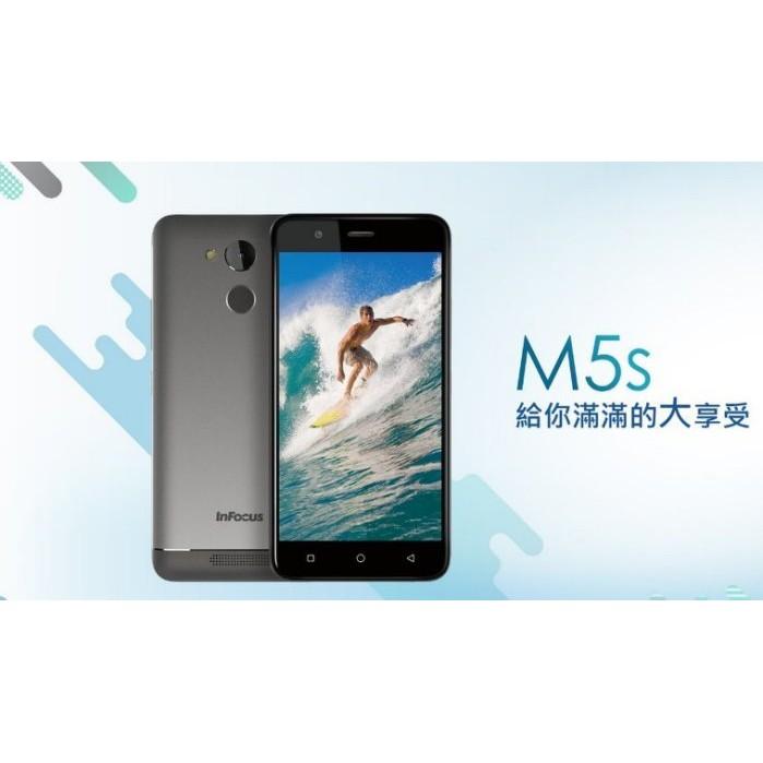 InFocus M5s 5.2 吋 (3G/32G) 指紋辨識 4000MA大容量電池超高續航力智慧手機 IF9002