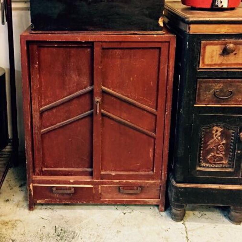 老件  檜木小菜櫥