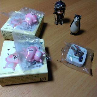 【便宜出清】食玩 扭蛋 森永卡娜赫拉巧克力球 吊飾 狗鳥 dogbird 動物方程式 巧克力蛋 動漫人物