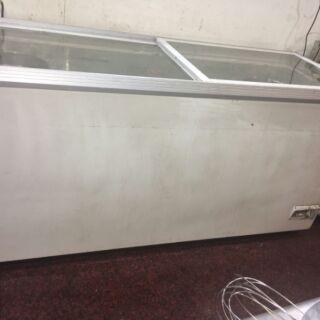 六尺&四尺 臥式冷藏冷凍櫃 玻璃拉門