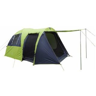 大營家購物網~DJ-875 豪華雙房歐式六人帳篷/一房一廳/可延伸