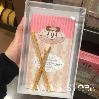 上海迪士尼 米妮 巧克力棒 夾心棒