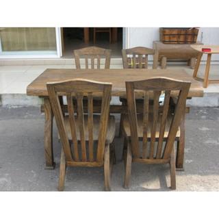 楝木餐桌椅組,(楝木餐椅組)實木餐桌椅組,木製餐桌,木製餐椅