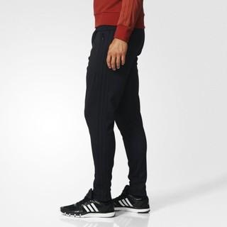 [ROSE] ADIDAS 黑  縮口 窄管  三條線  長褲 男 BJ9497
