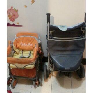 三輪手推車  加 機車椅手推車  組合價1000元