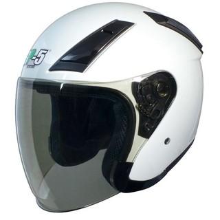 GP-5 GP5 225 3/4罩 半罩 素色 安全帽 - 白