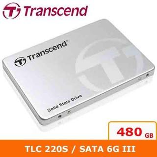 現貨 Transcend創見 2.5吋 220S 480G SATA3 SSD 固態硬碟 TS480GSSD220S