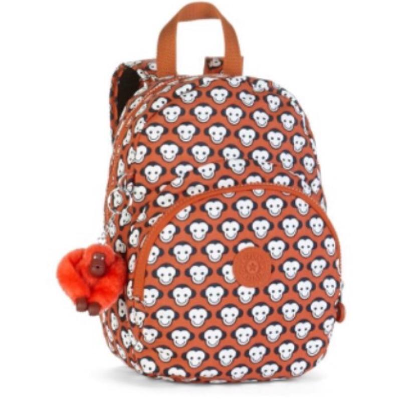 ✨五 折 ✨比利時品牌Kipling可愛猴臉兒童後背包