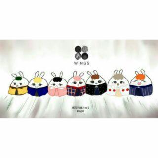 BTS 娃娃 韓站 拆售 糯米兔二代 糯米兔