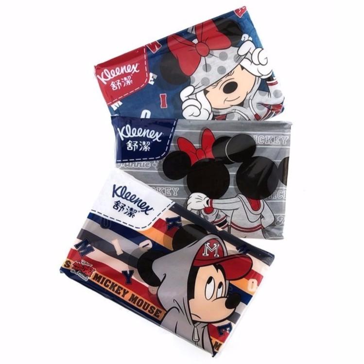 KLEENEX舒潔袖珍包面紙10抽36包 隨身包衛生紙 迪士尼 米奇 米妮 面紙 衛生紙 米老鼠 Mickey