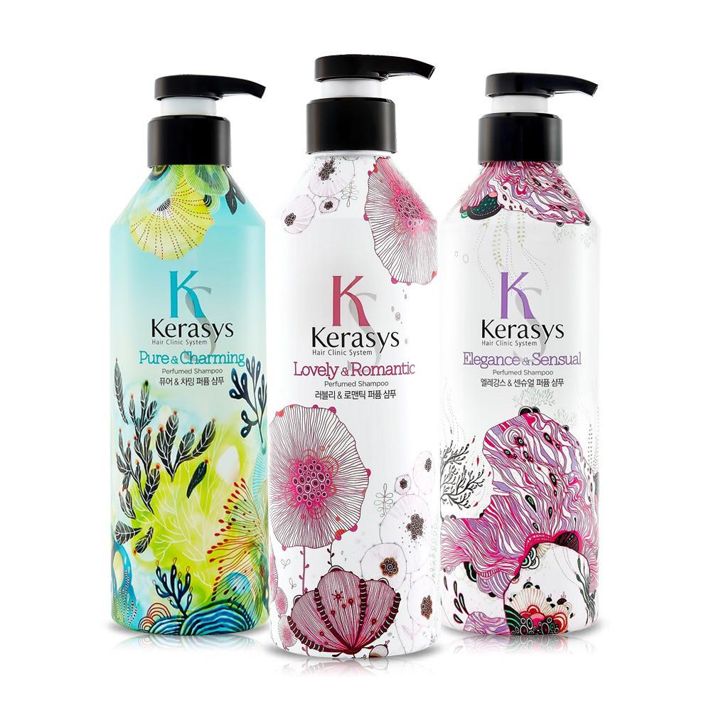 韓國Kerasys 可瑞絲  香氛洗髮精/潤髮乳《浪漫/英倫/朝霧》600ml 三款任選✪棉花糖美妝香水✪