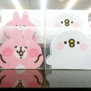 kanahei 卡娜赫拉 筆筒 置物盒 粉紅兔兔 p助