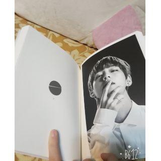 BTS 防彈少年團 臉部黑白寫真