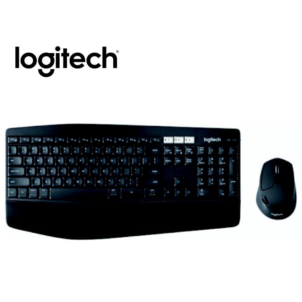 羅技 黑/MK850多工無線鍵盤滑鼠組/USB