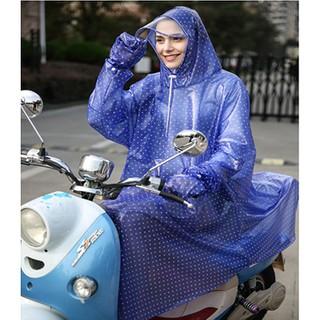 百利達雨衣電動車有袖子手套男女有袖電瓶車成人摩托車單人雨披