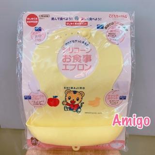 日本 巧連智 巧虎 兒童 幼童 防水 餵食式 餵食 圍兜兜 禮物