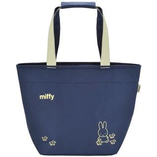 日本良品~日本膳魔師THERMOS 米菲兔miffy保溫袋 手提袋 17L【天力日本代購】