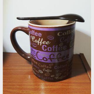 COffee附湯匙馬克杯