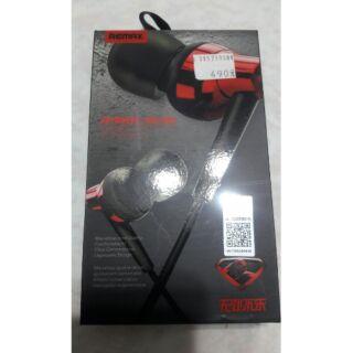 REMAX 575 正品RM-575耳機 紅色 3.5mm耳機