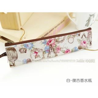環保筷子包 拉鍊餐具袋 防水  Zakka防水包包 收納包 拉鍊筷套 筆袋 MIT 台灣製