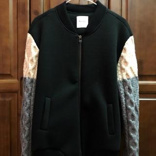 轉售❣️MOX經典棒球編織外套