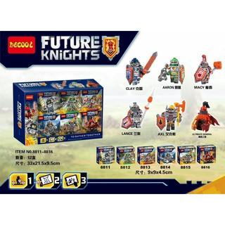 小頑童 LEGO 得高 Nexo Knights 未來騎士團 8811-16 克雷 阿隆 梅西 藍司 艾克索 小丑