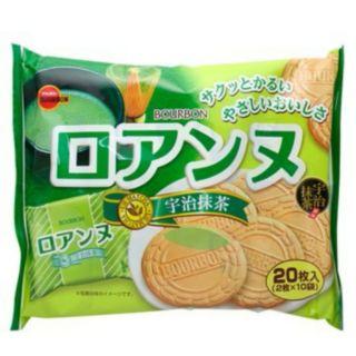 日本進口抹茶蘿蔓酥薄餅