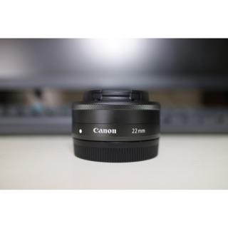 (故障品)Canon EF-M 22mm F2 鏡頭 定焦鏡 餅乾鏡