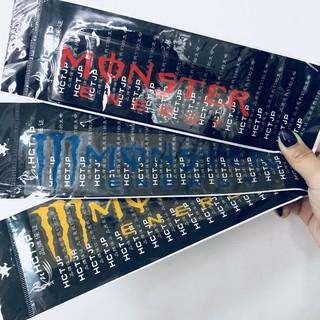 Monster Energy汽車機車行李箱滑板筆電防水貼紙