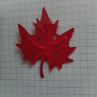 4公分 楓葉打洞器