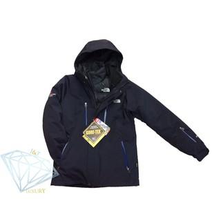 新款 免運 The North Face GORE-TEX 男生二件式風衣羽絨外套 藍/黑 防風防水保暖 多色可選
