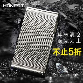 HONEST創意防風百誠電弧電子點煙器 usb充電打火機廠家批發直銷