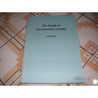 The Guide to Documentary Credites 3rd edition