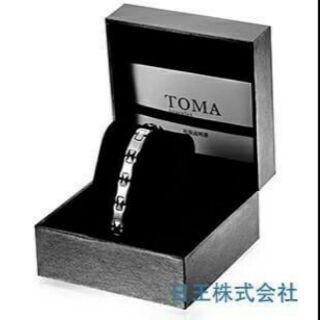 日本 日王株式會社 TOMA純鈦鍺石/磁力/磁石 男/女健康手鍊(3款顏色)(另有項鍊)~需預購