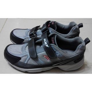 將門 JUMP 透氣運動鞋(日29號/歐45) 抗菌防臭鞋墊 男 慢跑鞋 魔鬼氈/黏扣帶  jump 鞋 運動鞋