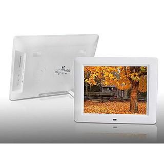 8 吋 電子相框800X600 解晰度數字螢幕影音播放MP3 MP4 內建喇叭鬧鈴節日