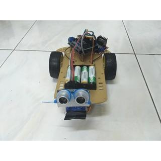 [Tsaiming Robot ]  Arduino 2WD藍牙避障自走車(成品現貨) 相容多款APP - 專題製作~~