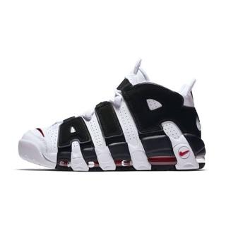 Nike air more uptempo 大air 黑白