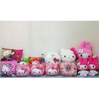 Hello kitty 美樂蒂 三麗鷗 姵姵豬 迪士尼 玩偶 枕頭 娃娃 抱枕 卡通 兒童 玩具 裝飾 臥室 客廳