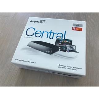 Seagate Central 4TB (贈送讀卡機)