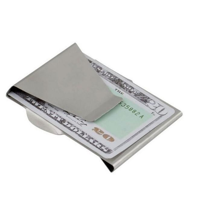 【不銹鋼錢夾】鈔票夾/銀行卡夾/錢包/金屬錢夾 DIGITAL INTERNATIONAL ELECTRIC 1128劉