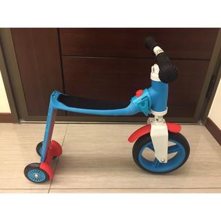 奧地利Scoot & Ride滑步滑板平衡車 Highwaybaby (亮麗藍 1Y+)