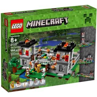 小小大積木 ◆ LEGO 21127 Minecraft The Fortress