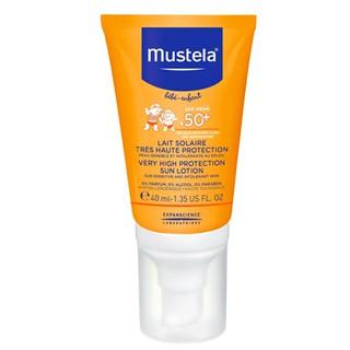 慕之恬廊 Mustela 高效性兒童防曬乳SPF50+ 40ML (嬰兒/兒童/寶寶均可使用)