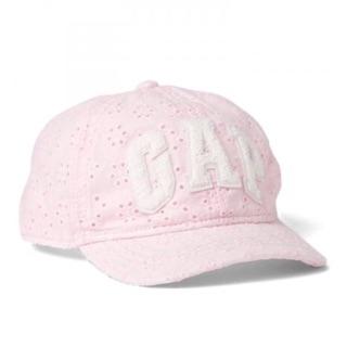 Gap 女童徽標棒球帽(粉色)