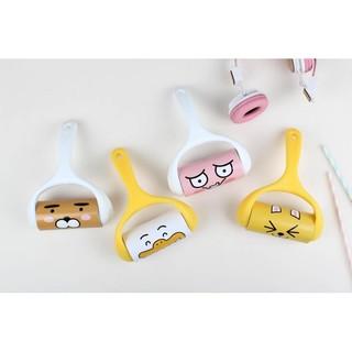 韓國卡通kakao friends可撕黏毛滾輪 除塵除毛滾筒衣物黏毛黏塵紙隨手黏