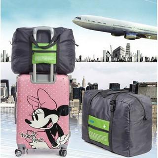 旅行飛機摺疊收納袋 防水 摺疊旅行袋 行李袋 拉桿包 行李箱